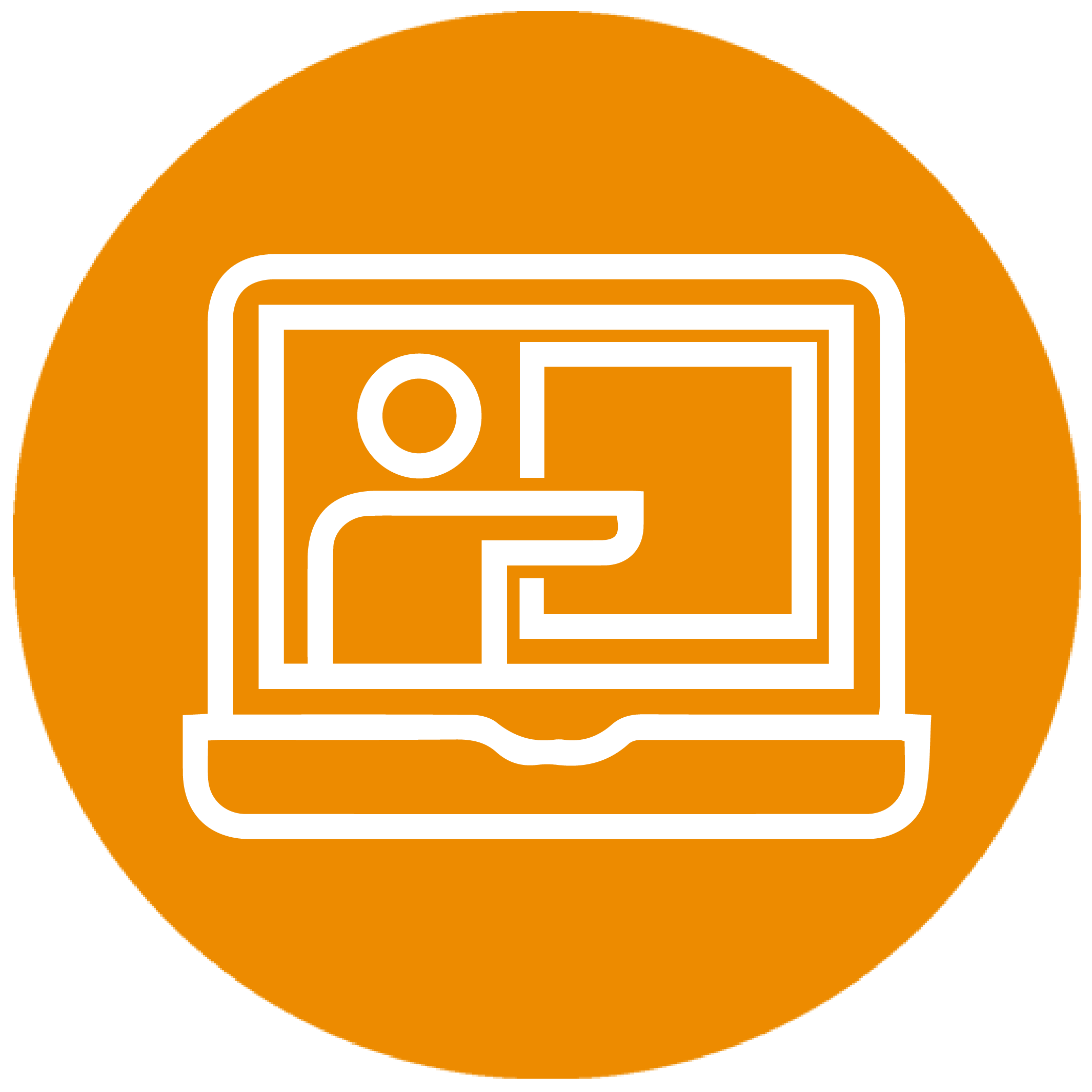 Hybrid Learning Icon