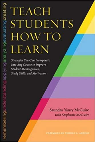 Book Image: Teach Students How to Learn