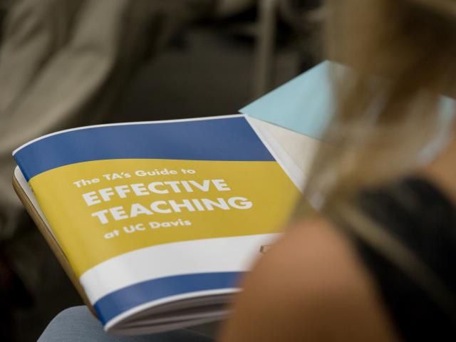 The TA's Guide to Effective Teaching at UC Davis